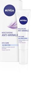 NIVEA Cremă anti-rid hidratantă de ochi pentru toate tipurile de ten