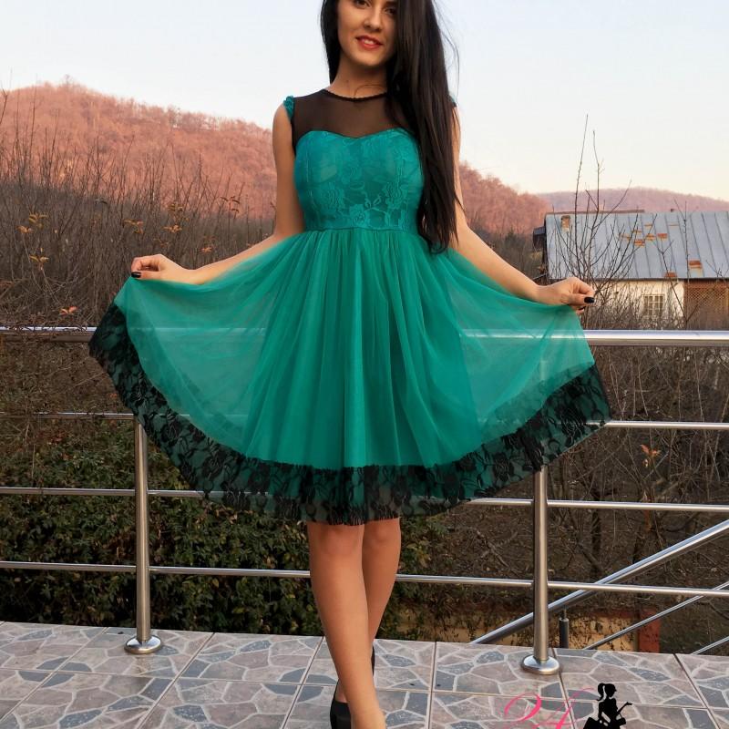 rochie-little-princess-green