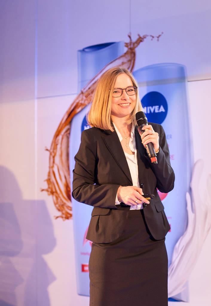 Nathalie Sors - Director de cercetare în cadrul Beiersdorf Research & Development Institute
