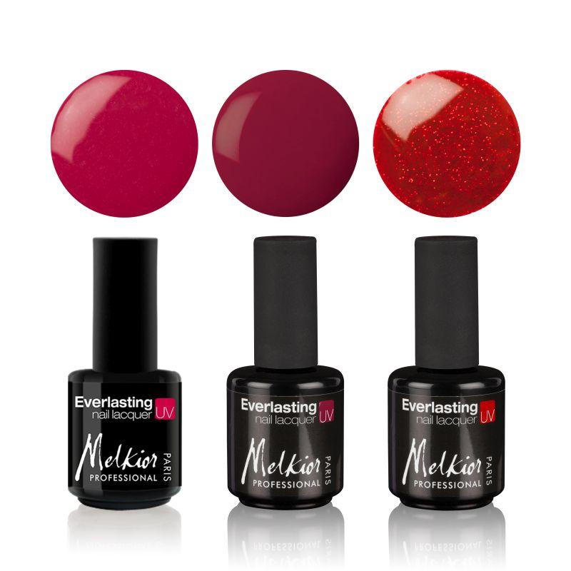 Oja semipermanenta Rouge, Cherry, Twist MELKIOR