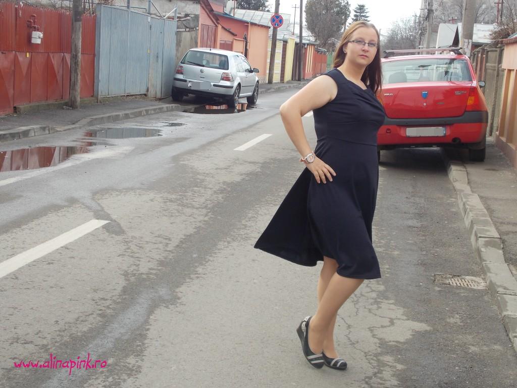 Rochie blue navy5