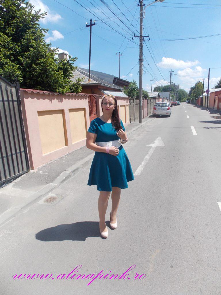 rochie verde 2