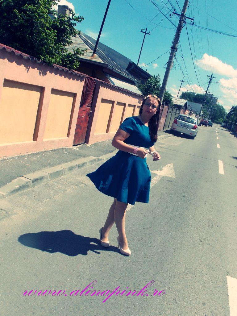 rochie verde 3