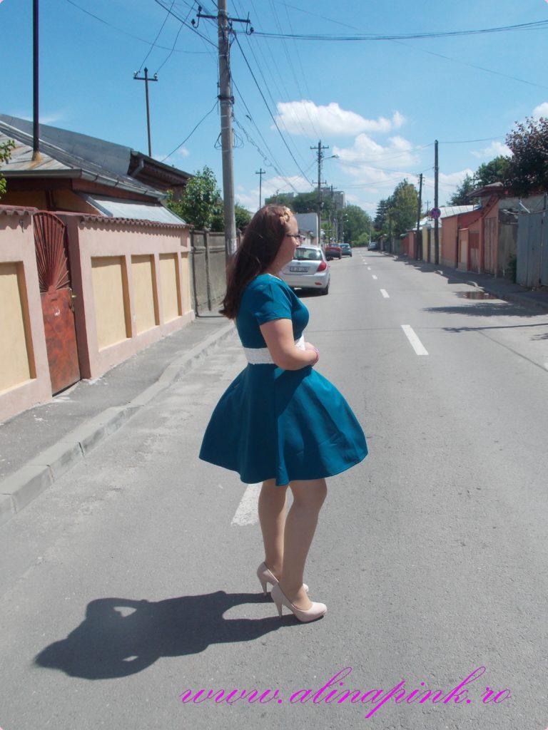 rochie verde 4
