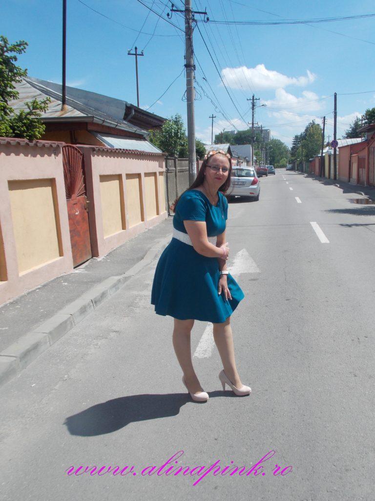 rochie verde 5
