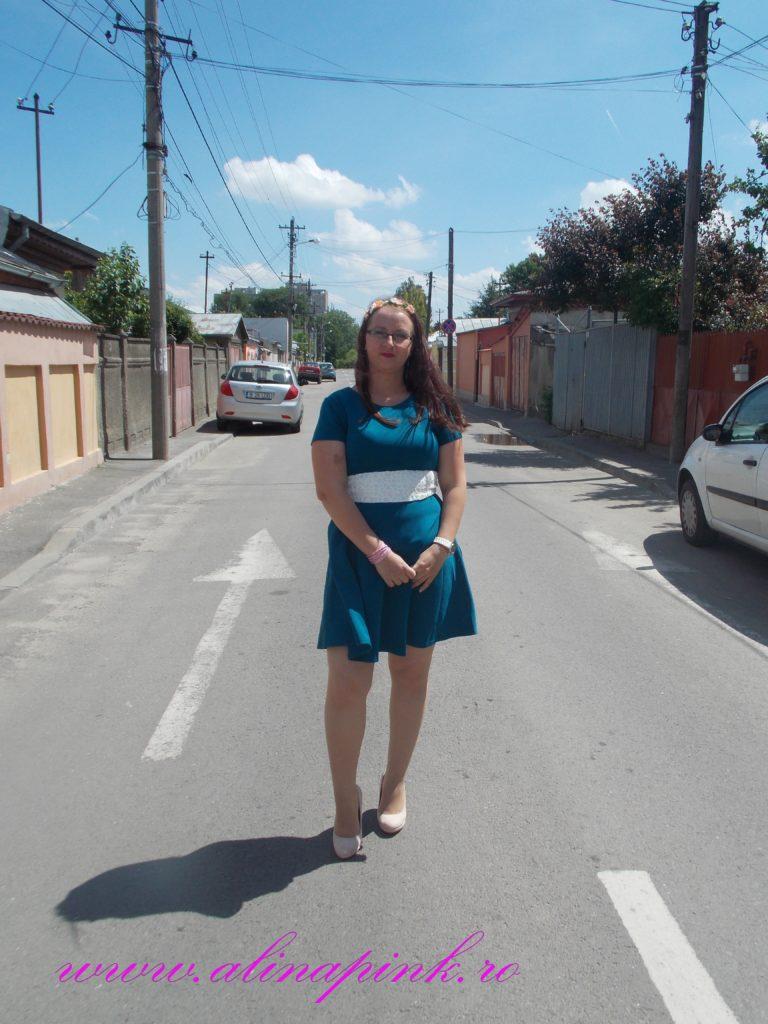 rochie verde 6