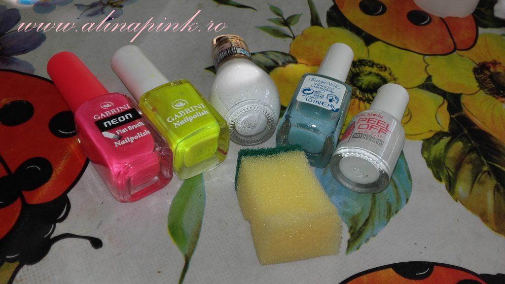 diy gradient nails