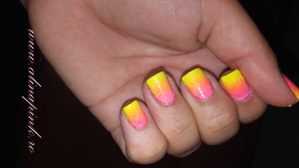 diy gradient nails 4